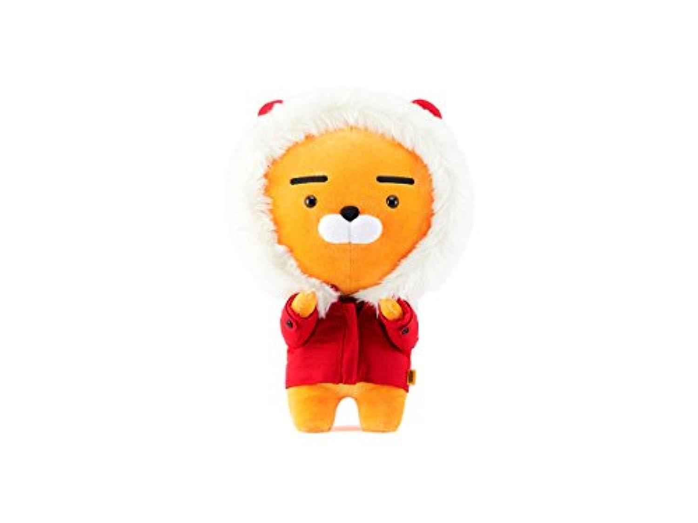 (カカオフレンズ)KAKAO FRIENDS 人形 2017 限定 ウィンター ライアン レッド [並行輸入品]