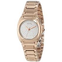 白いダイヤモンド・ダイヤルが金の状態イオン・メッキのステンレス鋼腕時計を上げることを、クロトン好きのCN207315INRG皇后は舗装しました 【並行輸入】