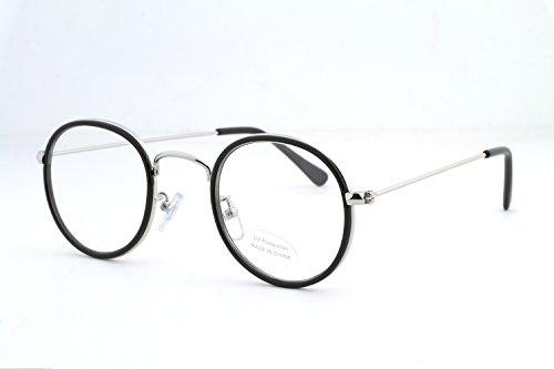 (Feel Life eyewear) FEEL LIFE EYE WEAR Boston type Classic Date glasses case with UV-cut trend simple FI3005