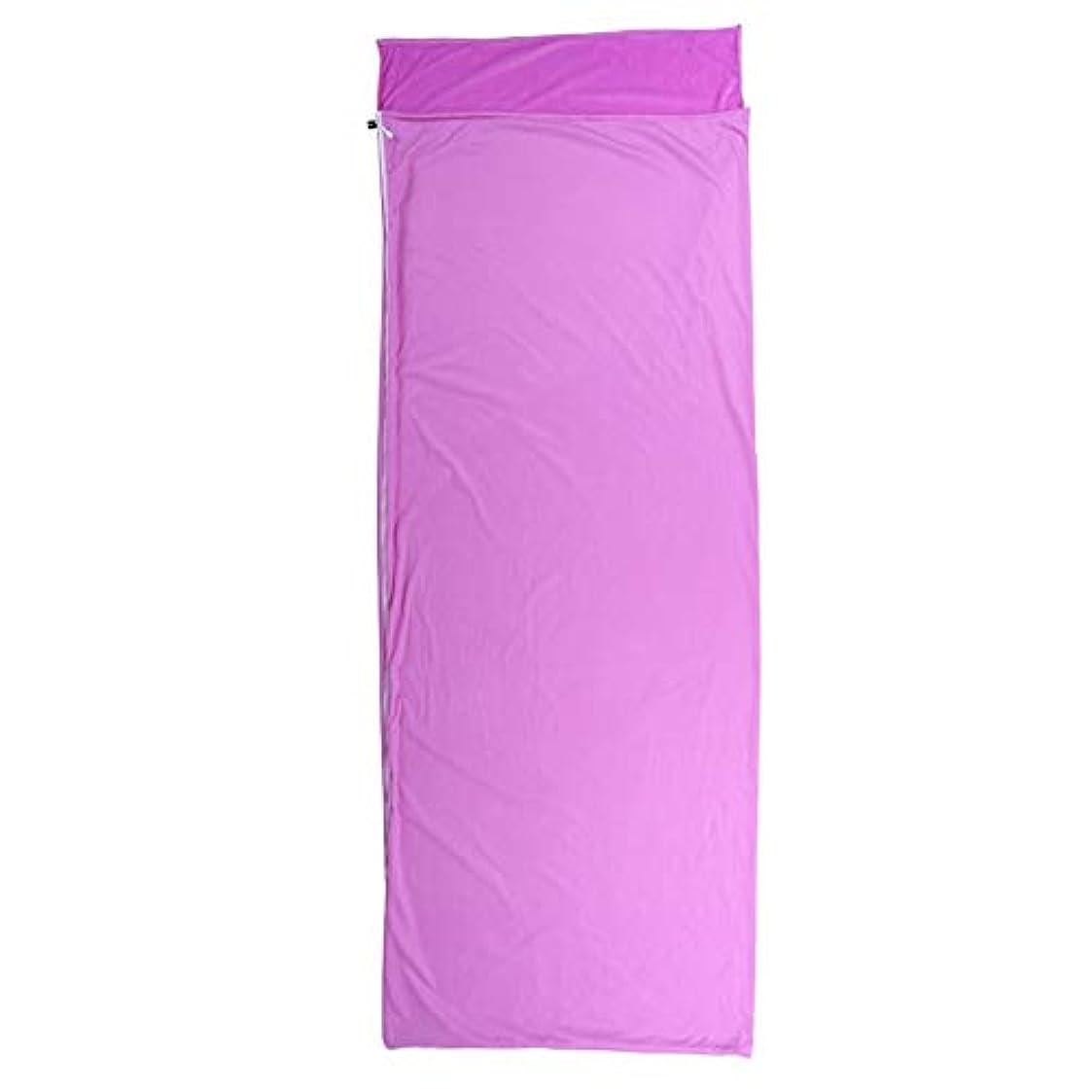 追加広まった端TLMYDD 大人の屋外旅行封筒超軽量ポータブルパープル裏地寝袋 寝袋 (Color : Green)