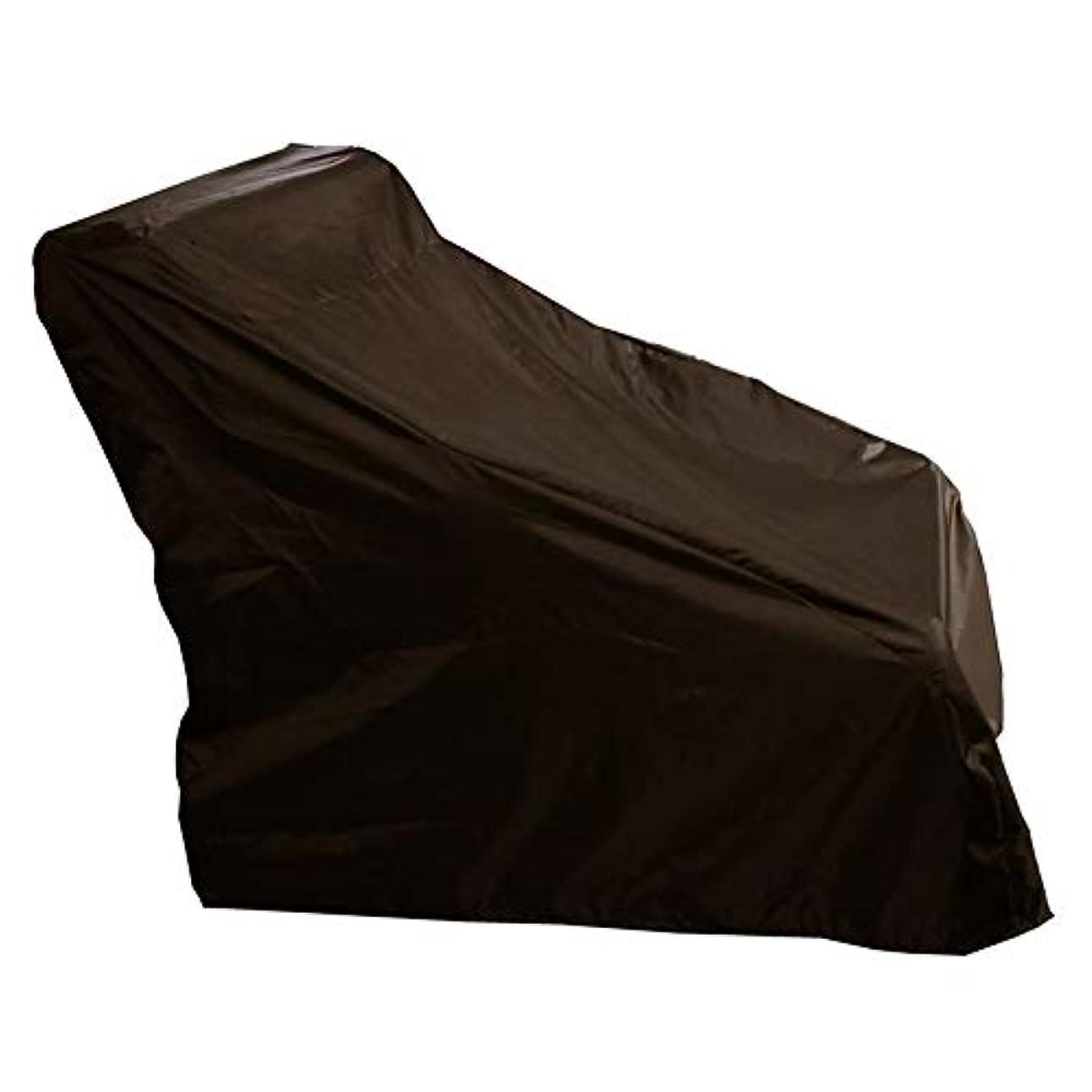表面元気すべてZHANWEI ターポリンタープ カバー マッサージチェア ダストカバー 防水 ポリエステル布 ターポリン、 2色、 2サイズ (色 : Brown, サイズ さいず : 135x90x130cm)