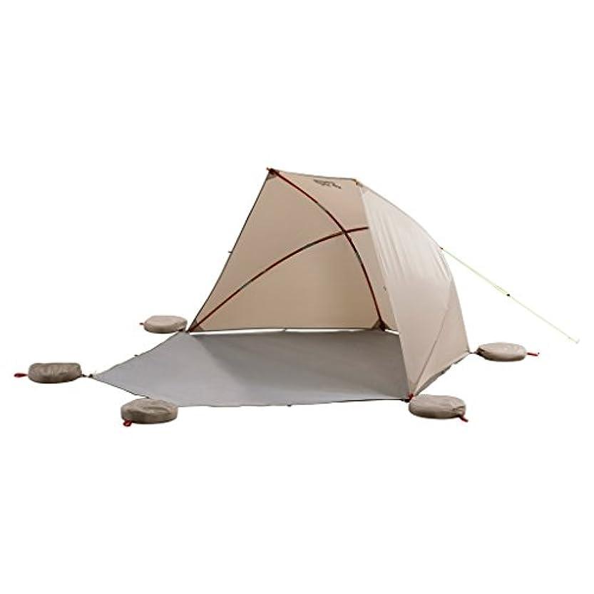 ショルダーヒギンズ無視するJack Wolfskin(ジャックウルフスキン) アウトドア テント バリオ ビーチシェルター [2人用] サハラ W3004061