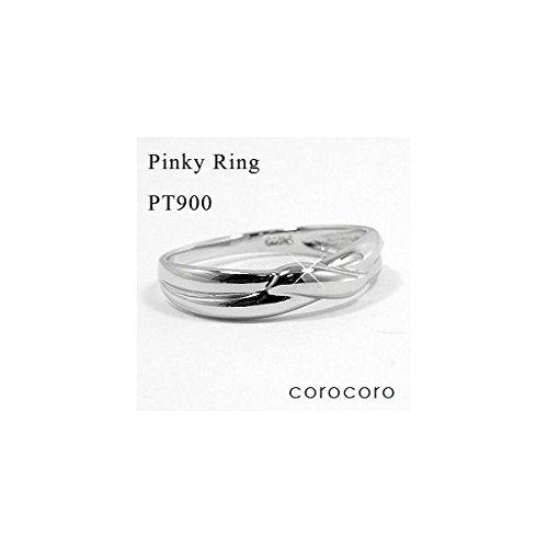 シンプルピンキーリング指輪プラチナピンキーリング