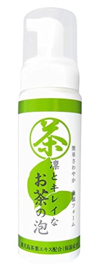 ドアミラー純正余韻凛とキレイなお茶の泡 (泡洗顔フォーム) 日本製