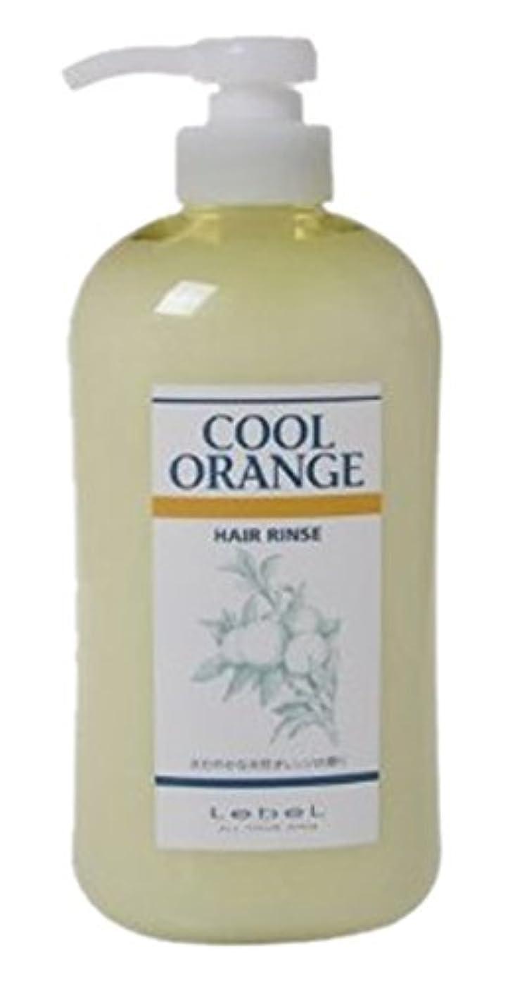 柔らかいまっすぐ冷凍庫ルベル クールオレンジヘアリンス 600ml