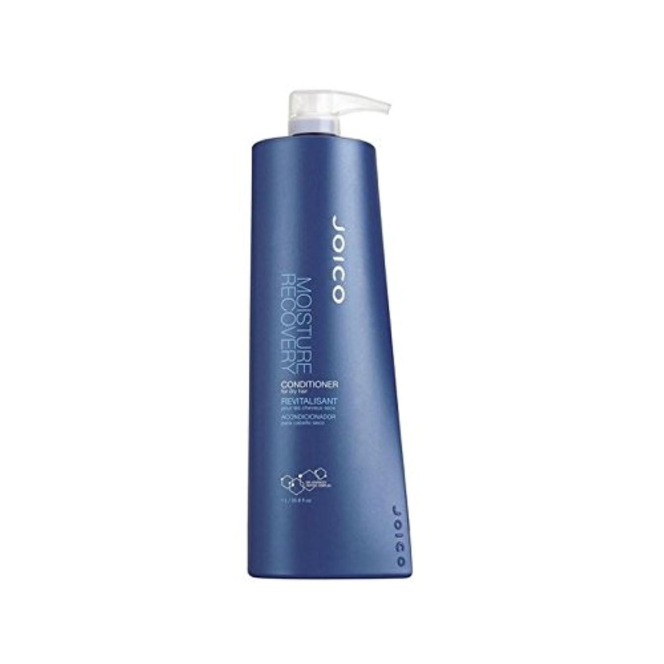 緯度崩壊口Joico Moisture Recovery Conditioner For Dry Hair (1000ml) - 乾いた髪用ジョイコ水分回復コンディショナー(千ミリリットル) [並行輸入品]