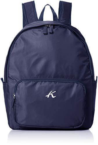 [キタムラ] 折りたたんで小さく収納できる リュック Z-0266 旅行 トラベル 散歩 ダークブルー [紺] 10101