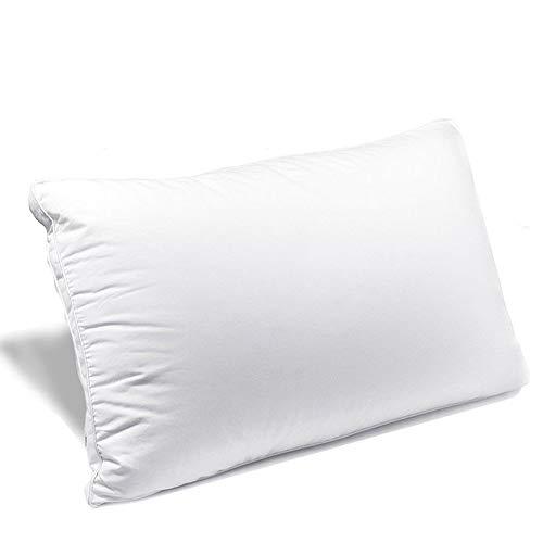 YANX 枕 安眠 高反発枕 良い通気性 人気枕 頚椎サポート 高さ調節 快眠枕 丸洗い可能 「中空繊維」43x63CM