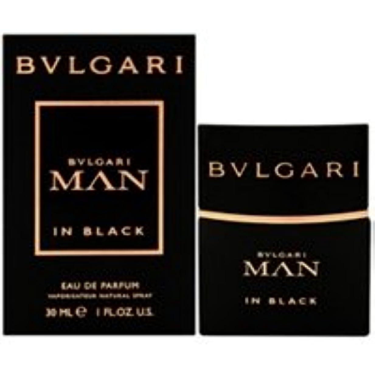 酸素ボタンあいまいさブルガリ BVLGARI ブルガリ マン イン ブラック EDP SP 30ml