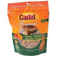 IMS Cadet Gourmet Sweet Potato Steak Fries Healthy Natural Treat for Dogs 8oz