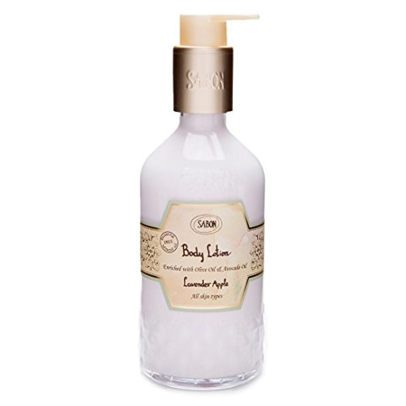 周波数本小間【SABON(サボン)】ボディ ローション ラベンダー アップル ボトルタイプ Body Lotion Lavender Apple