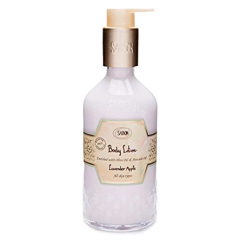 スチール成長する逃れる【SABON(サボン)】ボディ ローション ラベンダー アップル ボトルタイプ Body Lotion Lavender Apple
