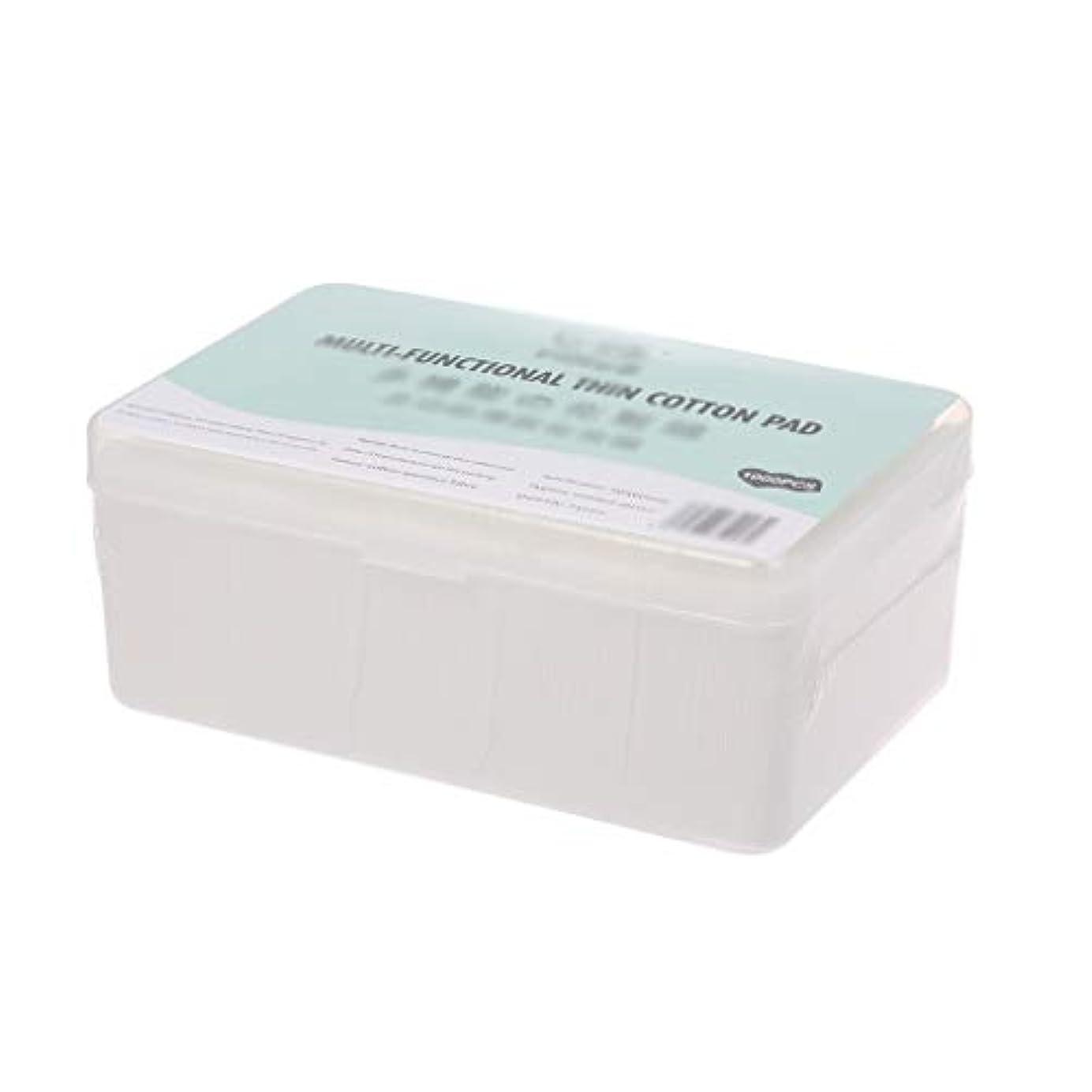 銀河熱帯の任意クレンジングシート 1000ピース箱入り使い捨て超薄型コットンメイク落としネイルポリッシュリムーバークレンジングティッシュペーパーペーパー (Color : White, サイズ : 5*6cm)