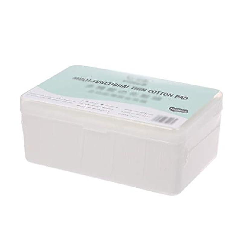 起きるモッキンバードパシフィッククレンジングシート 1000ピース箱入り使い捨て超薄型コットンメイク落としネイルポリッシュリムーバークレンジングティッシュペーパーペーパー (Color : White, サイズ : 5*6cm)