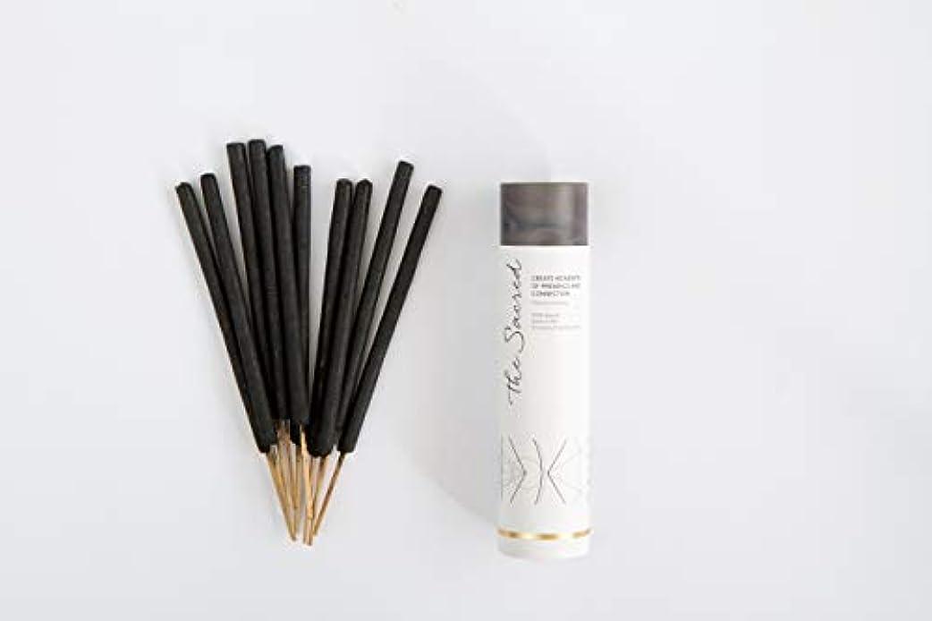 予感顎斧The SacredバリIncense – 10プレミアムLong Burn ' Fat ' Sticks。100 % Organic & Natural Ingredients。