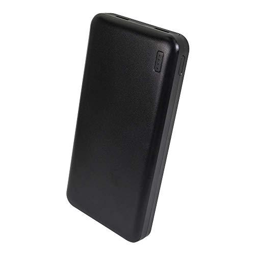 オウルテック モバイルバッテリー 20000mAh 大容量 充電器 2.4A 高出力 急速充電 iPhone スマートフォン iPad タブレット Wi-Fiルーター ブラック 1年保証 OWL-LPB20001-BK