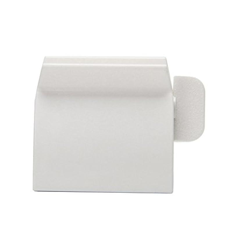 巨大な等しい白いLamdoo浴室ホームチューブローリングホルダースクイーザ簡単歯磨き粉ディスペンサー