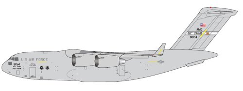 1: 200 ジェミニジェット US Air Force C-17 Travis AFB (並行輸入)