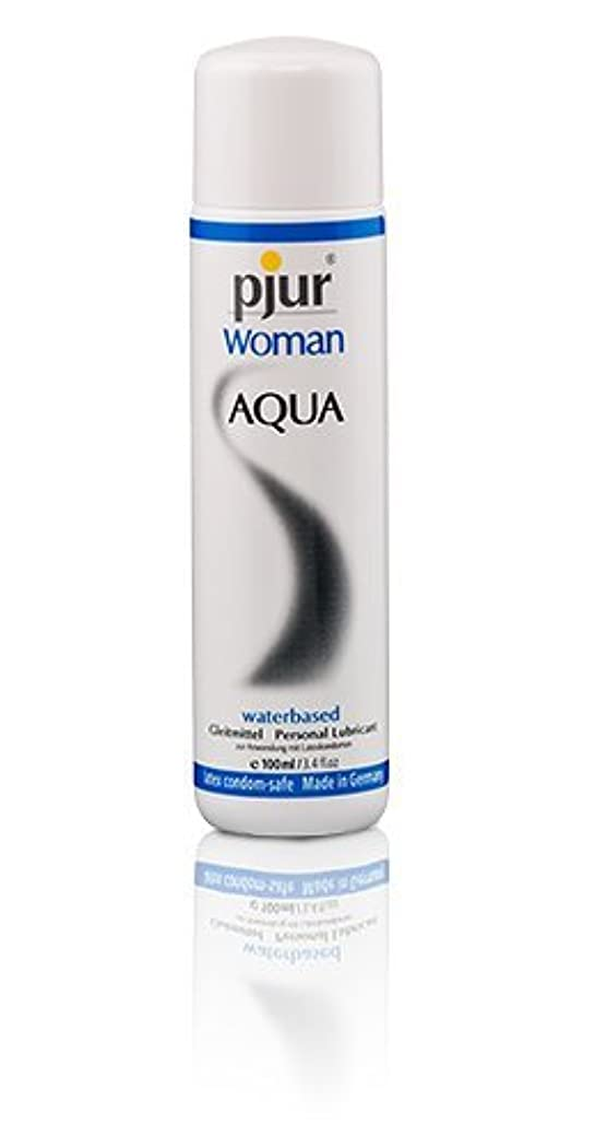 によると悲しい株式Pjur Woman Aqua Bottle Lubricant - 100ml