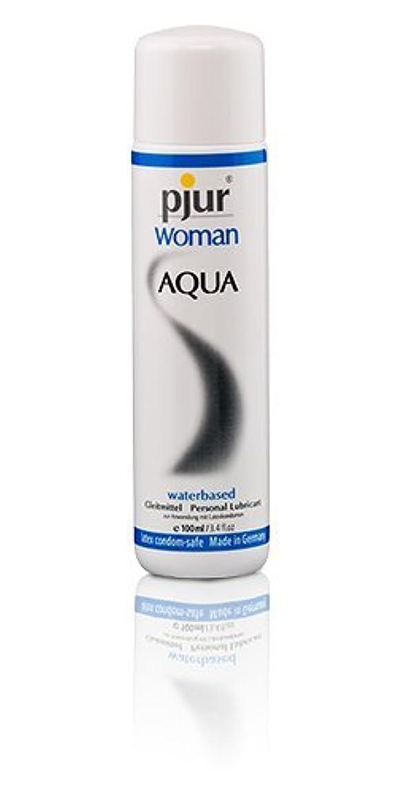 残酷な財産案件Pjur Woman Aqua Bottle Lubricant - 100ml