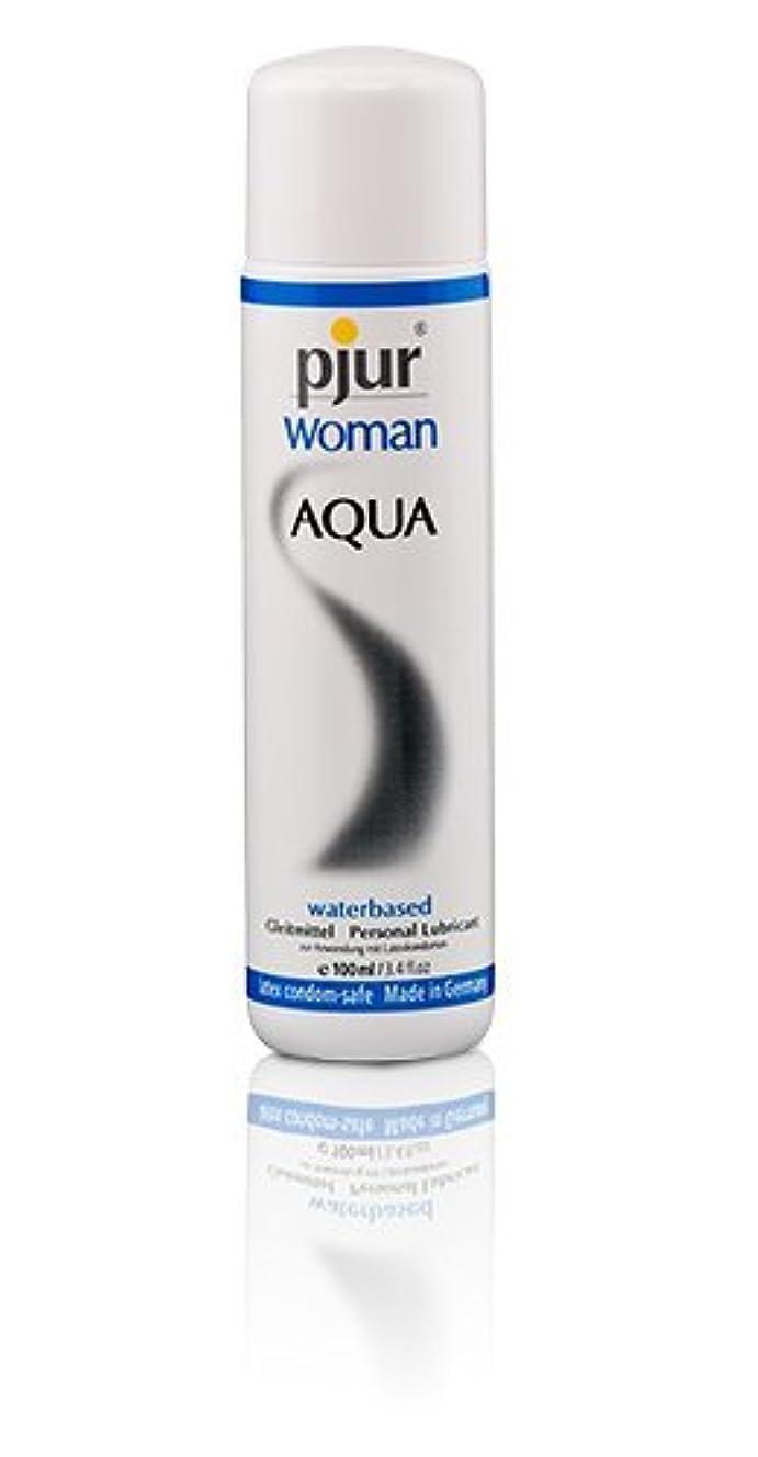 製油所高めるカストディアンPjur Woman Aqua Bottle Lubricant - 100ml