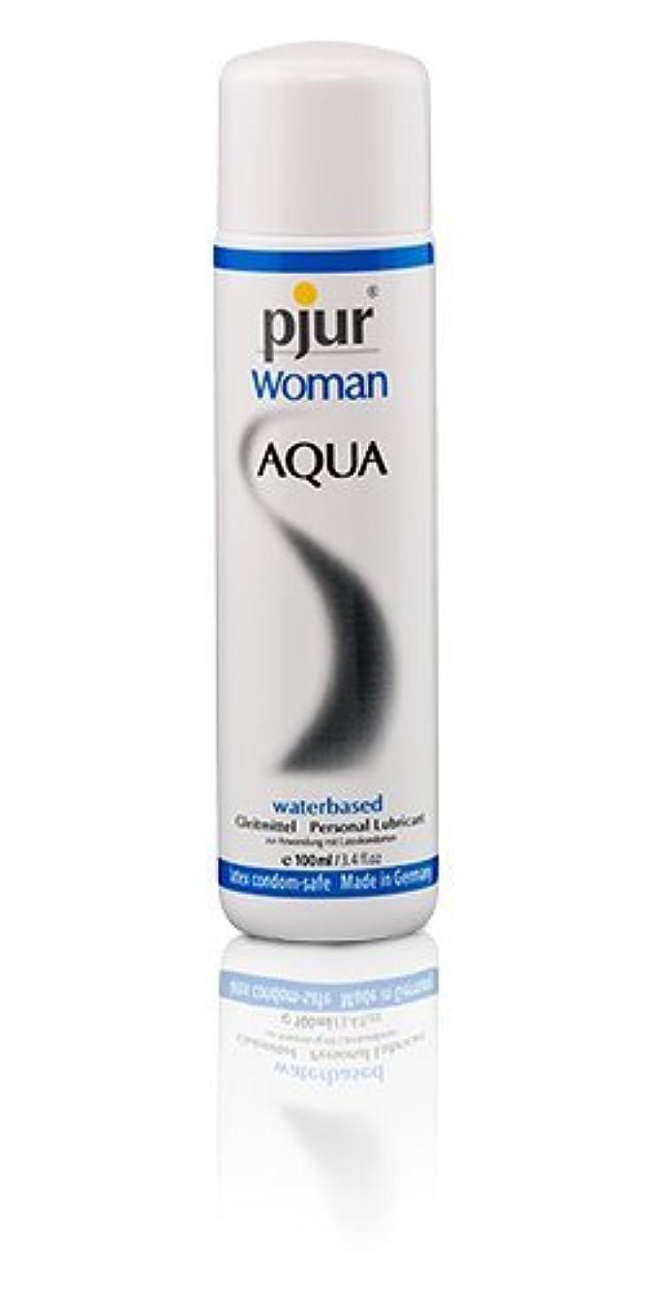 尊厳偏差前書きPjur Woman Aqua Bottle Lubricant - 100ml