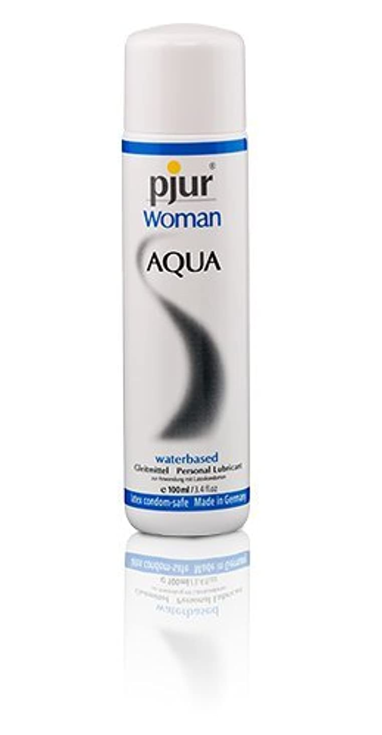 アセンブリシール普通にPjur Woman Aqua Bottle Lubricant - 100ml