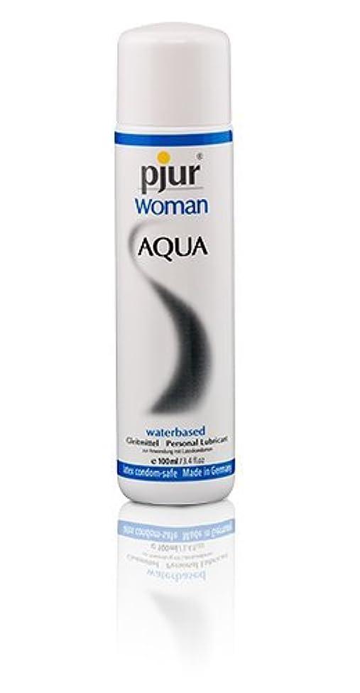 船酔い経由で欠点Pjur Woman Aqua Bottle Lubricant - 100ml