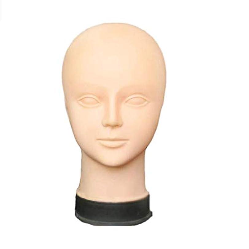 カブ蚊代数女性鍼治療ヘッドモデルエクササイズヘッドインジェクション、マッサージ&メイクアップヘッドモデル - PVCソフトボールドヘッドモデル ヘアケア (Design : C)