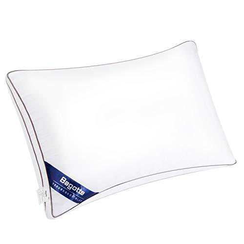 Jicoff 枕 高反発 安眠枕 人気 肩こり 横向き対応 健康枕 立体構造 丸洗い可能 快眠枕 男女兼用 通気性抜群 防湿 抗菌 高級ホテル仕様 約 60X43cm