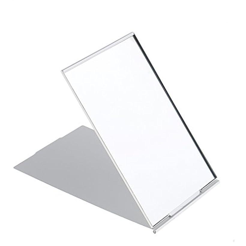 役割散るゆでる化粧鏡 スタンド 卓上 メイクアップミラー 折り畳み式 卓上ミラー 全3サイズ - #2