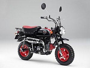 HONDA モンキー(くまモンバージョン) AB27 グラファイトブラック 50cc 国内モデル