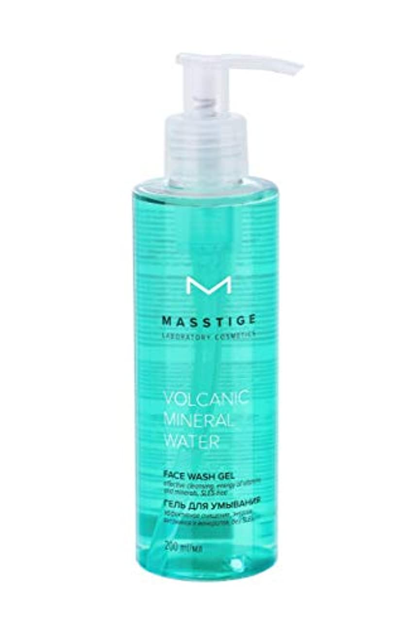 MASSTIGE | Volcanic Mineral Water | FACE WASH GEL | Extract Of Dead Sea Minerals | Vitamin Complex | 200 ml