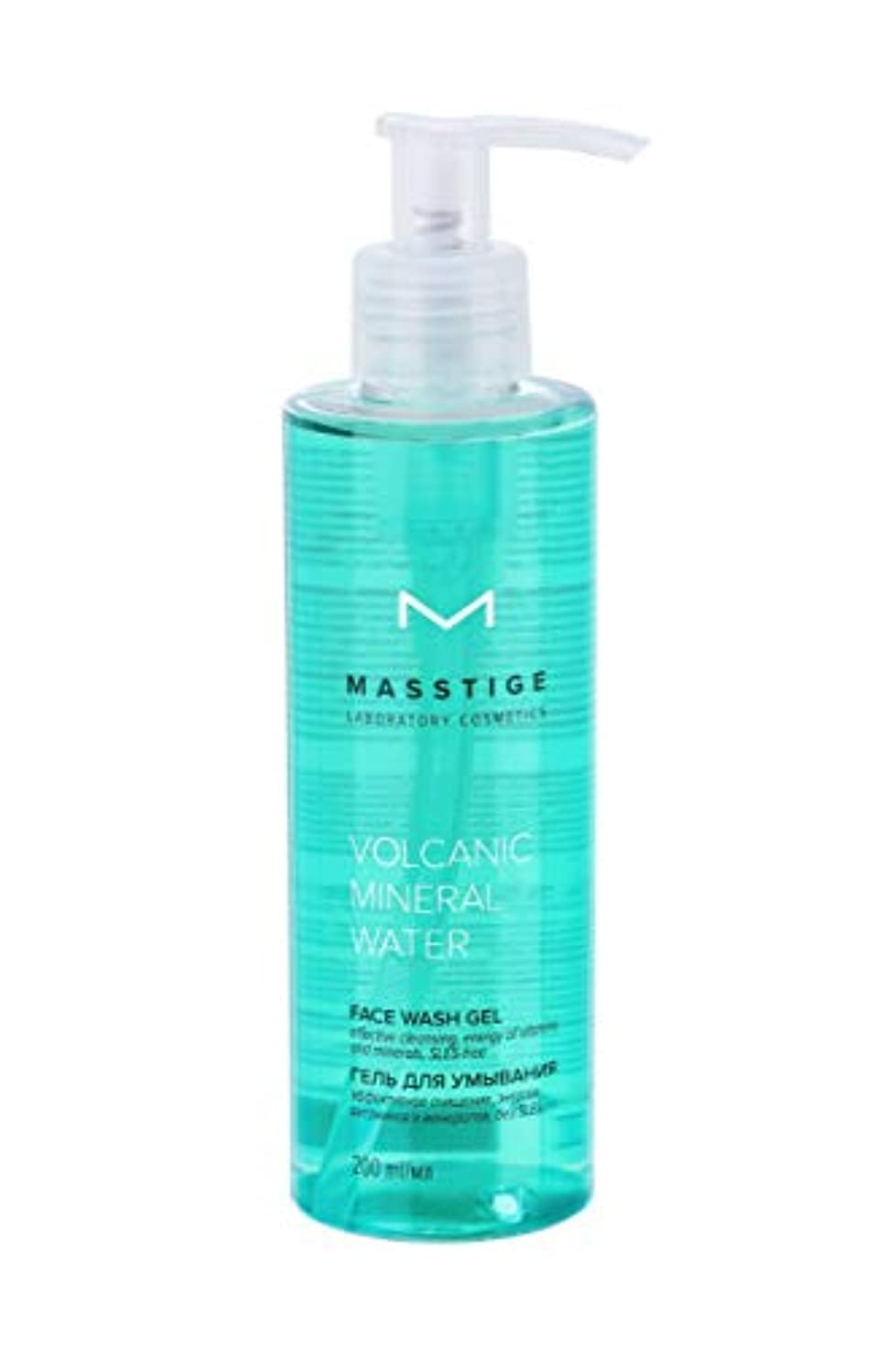 ローン逃れる女優MASSTIGE | Volcanic Mineral Water | FACE WASH GEL | Extract Of Dead Sea Minerals | Vitamin Complex | 200 ml