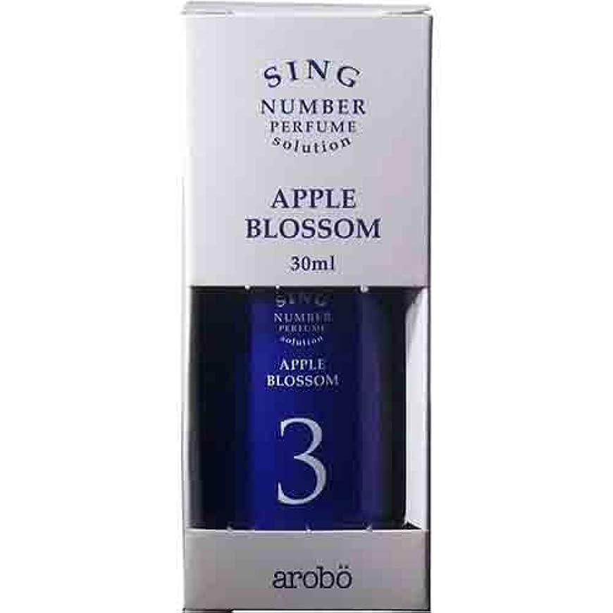 くるくるスタジオ減衰arobo SING 空気洗浄器用ソリューション CLV-853 30mL アップルブロッサム
