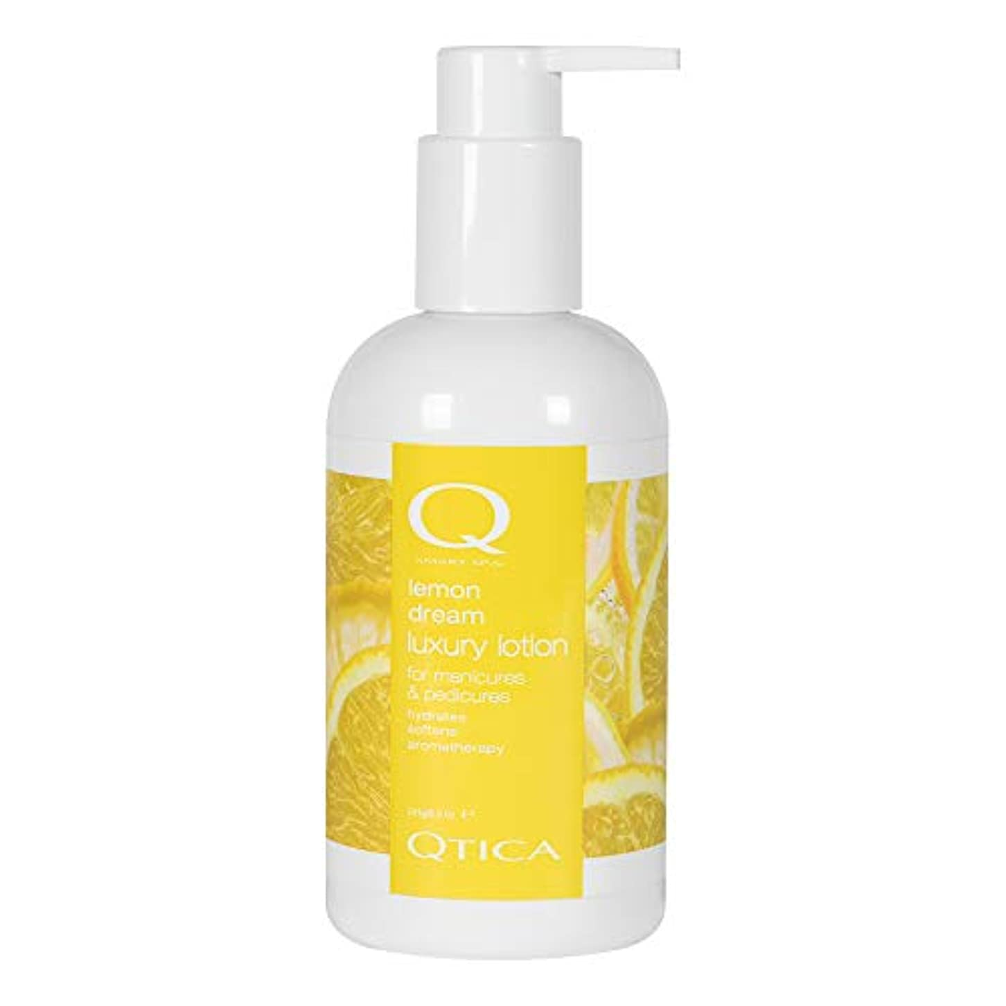 処方する勧告簡単なQTICA スマートスパ ローション レモンドリーム 241g ケア用品