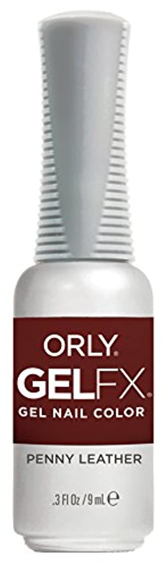 トラック前進助けになるOrly Gel FX - Darlings of Defiance Collection - Penny Leather - 0.3 oz / 9 mL