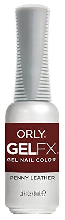 薬剤師雨習熟度Orly Gel FX - Darlings of Defiance Collection - Penny Leather - 0.3 oz / 9 mL
