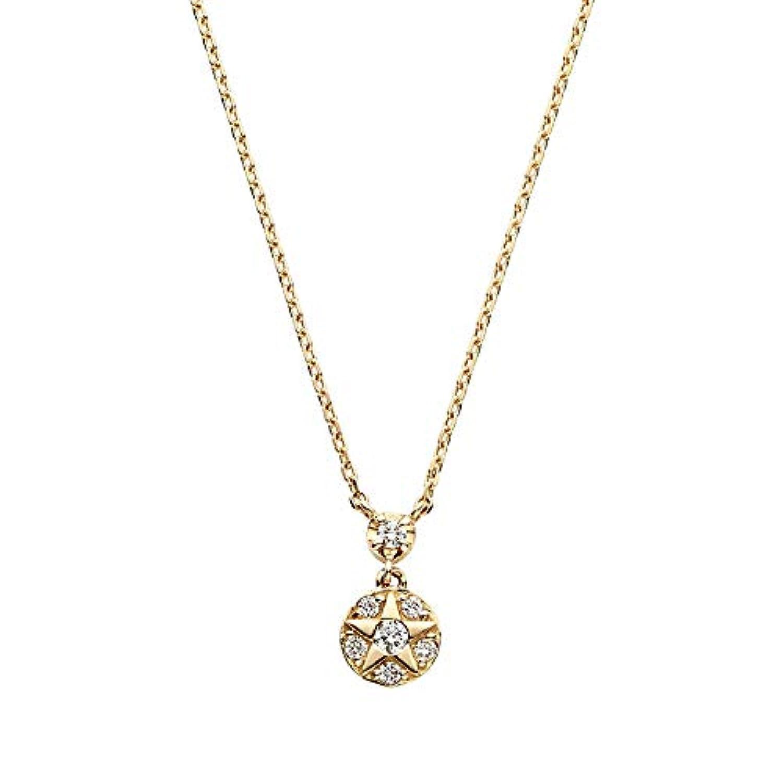 [VENDOME AOYAMA(ヴァンドーム青山) (VENDW)] VAヴァンドーム青山 K18YG ダイヤモンド 0.04ct ブリステラ ネックレス GGVN009540DI
