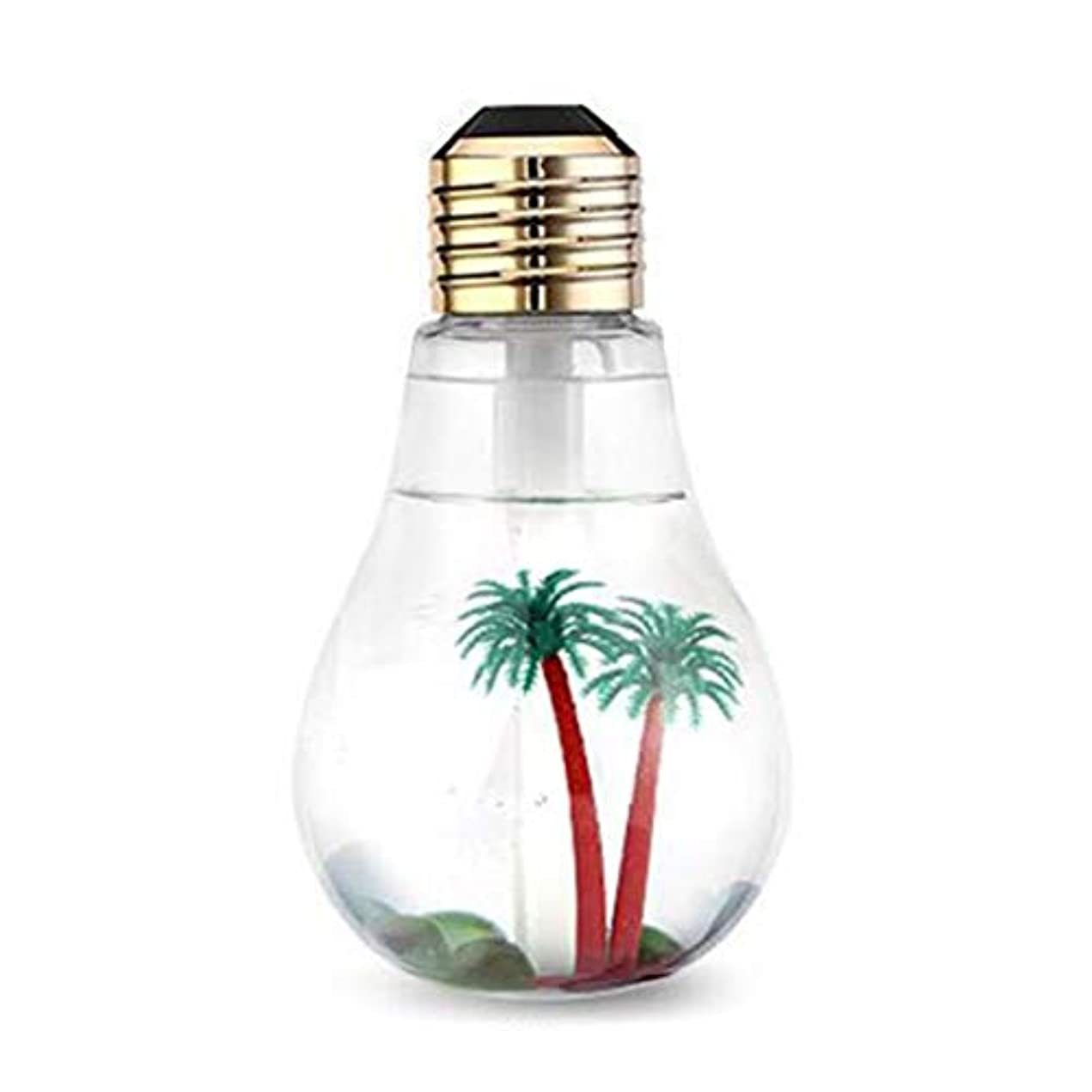 Intercorey Bulb-shaped Air Ultrasonic Humidifier For Home Essential Oil Diffuser Atomizer Air Freshener Mist Maker...