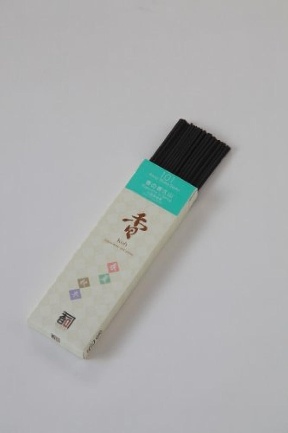 位置づけるケープ未払い「あわじ島の香司」 日本の香りシリーズ (春夏秋冬) 【101】  ◆春の香久山◆
