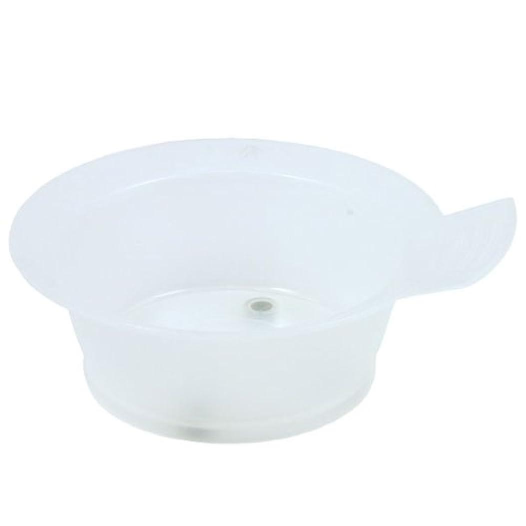 ツイン放射する実行可能TBG ヘアダイカップ クリアホワイト 3個セット