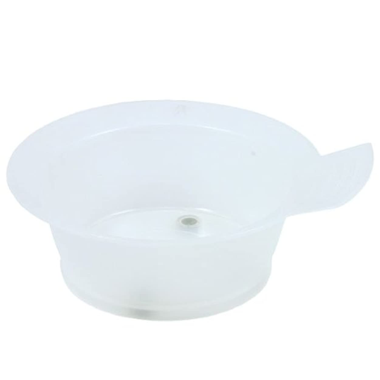 最小化する精度シャックルTBG ヘアダイカップ クリアホワイト 3個セット