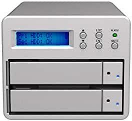 SOHORAID SR2/USB3.0/eSATA/RAID1/RAID0/(SR2-SB3-6G)/2ベイ