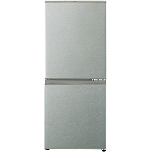 アクア 126L 2ドア冷蔵庫(ブラッシュシルバー)【右開き】AQUA AQR-13G-S