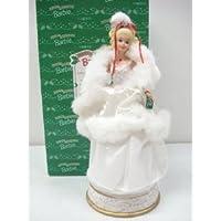 Barbie(バービー) Collectable Happy Holidays 1989 Musical Figurine ドール 人形 フィギュア(並行輸入)