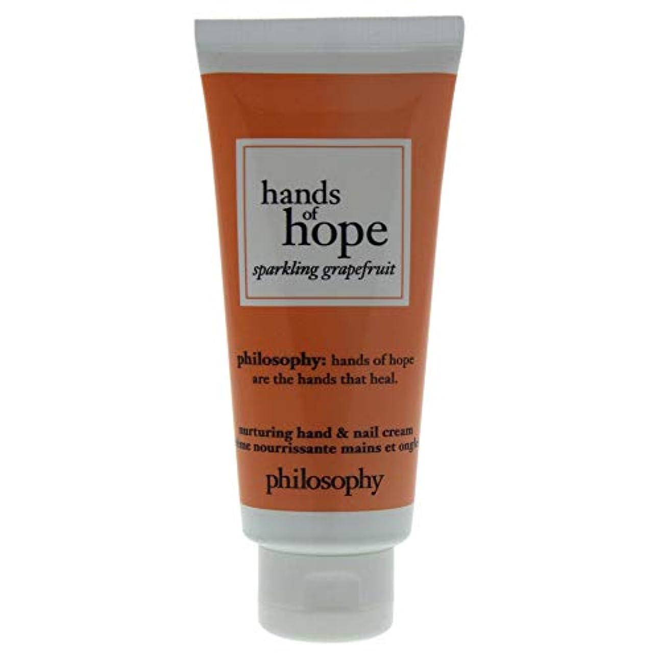 興味陰謀バックフィロソフィー Hands of Hope Sparkling Grapefruit Hand & Nail Cream 30ml/1oz並行輸入品