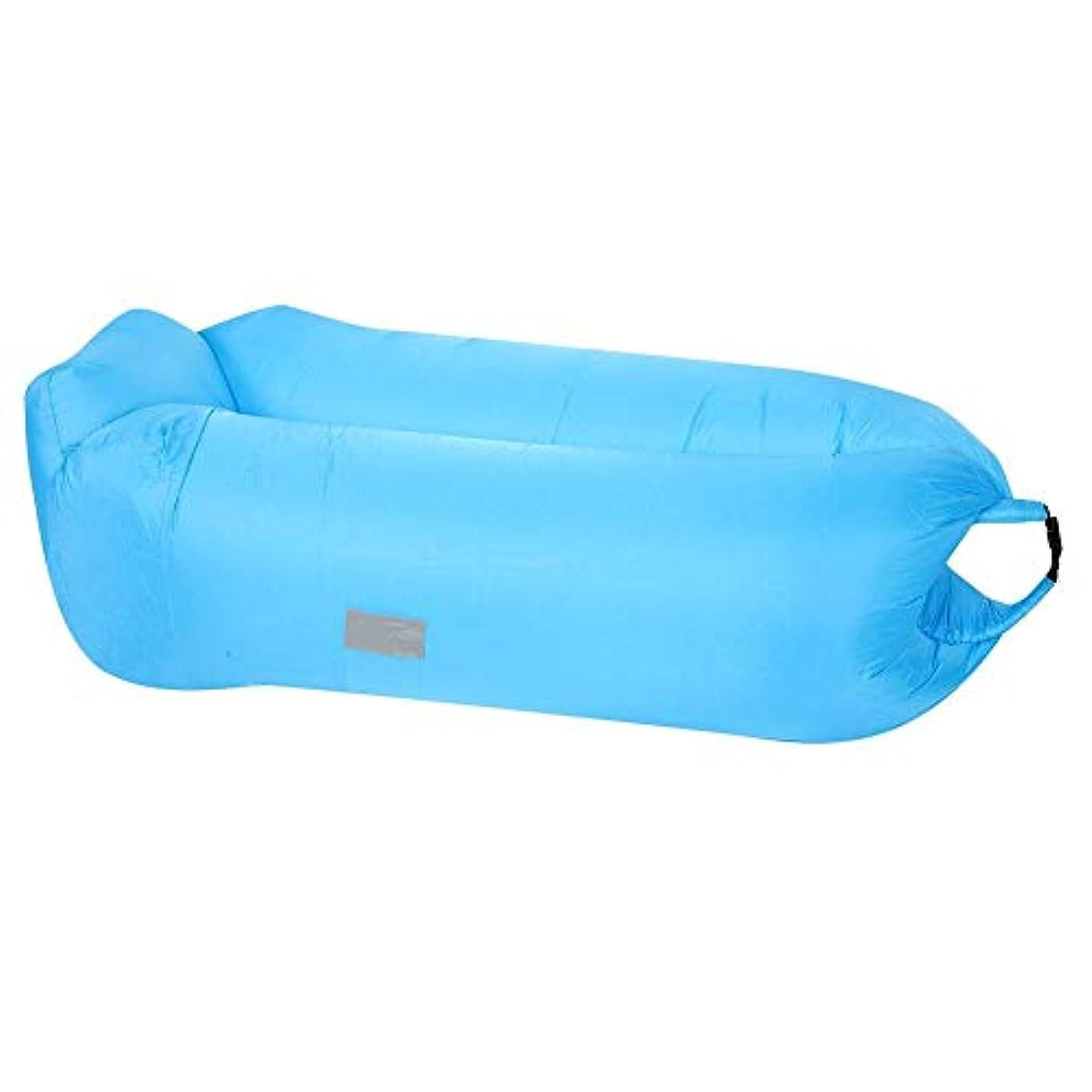 起こりやすい章薄める寝袋 インフレータブル寝袋 エアベッド テントパッド 膨脹可能 超軽量 コンパクト 折り畳み式 屋外 キャンプ