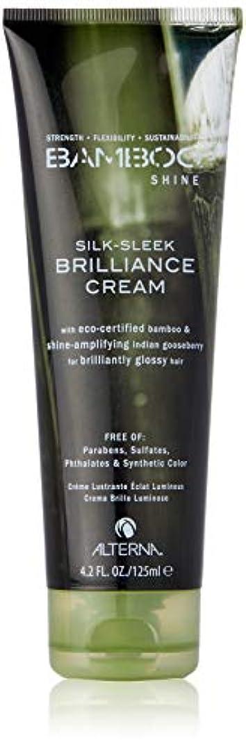踏みつけイノセンス起こりやすいBamboo Shine Silk-Sleek Shine Brilliance Cream