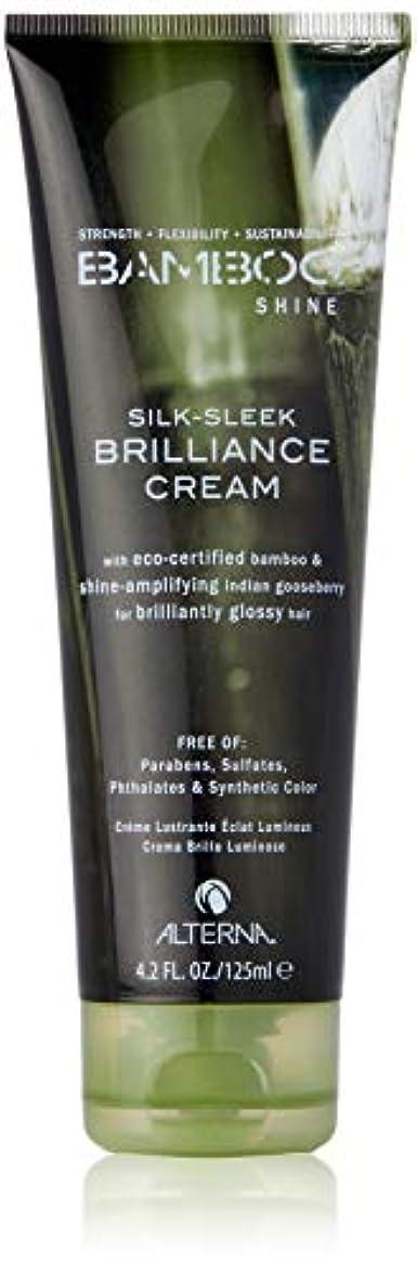 死にかけている静けさ眠いですBamboo Shine Silk-Sleek Shine Brilliance Cream